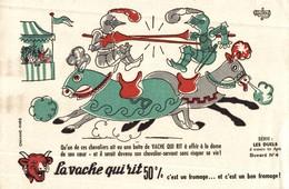 BUVARD LA VACHE QUI RIT LES DUELS - Produits Laitiers