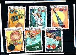 6427b)  Vietnam E Sovietica Space Exploration Volo-Congiunto  1980  -SERIE  -USATA - Vietnam