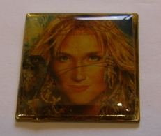 DORO PESCH ANGELS NEVER DIE ALBUM POPLIGHT COLLECTION Limited Edition Limitee Numeroté Number #48 Pin Pin's Pins - Musique