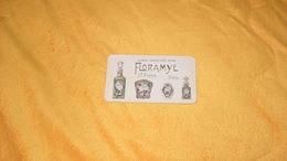 CARTE PARFUMEE AVEC FLORAMYE L.T. PIVER PARIS...CALENDRIER AU DOS 1929 A 1930.. - Cartes Parfumées