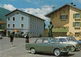 KOPARID-CAPORETTO-AUTO-CAR-VOITURES-COCHE -CARTOLINA VERA FOTOGRAFIA NON VIAGGIATA - Slovenia