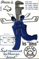 BUVARD LES BLEUS SOLIDA - Textile & Vestimentaire