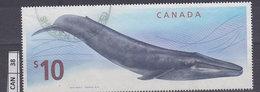 CANADA2010, Balena Blu, 10 $, Usato - Usati