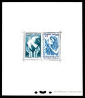 N°761/62, Conférence De La Paix, Tirage 1000 Exemplaires, SUP (certificat)  Qualité: ** - Blocs & Feuillets