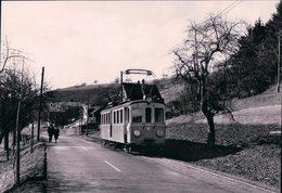 Suisse SH, Chemin De Fer, Strassenbahn Schaffhausen - Schleitheim, Photo 1963 BVA, StSS 14 - SH Schaffhouse