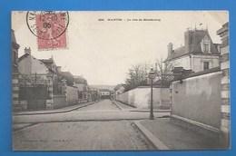 78 ++ MANTES - RUE DE STRASBOURG - 1905 - Mantes La Jolie