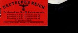 Markenheftchen 48.2 Adolf Hitler **/* MLH /  MNH Neuf - Markenheftchen