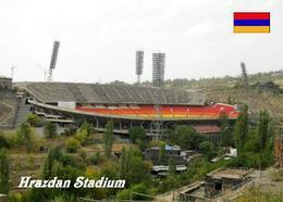 Armenia Yerevan Hrazdan Stadium New Postcard Armenien Stadion AK - Armenia