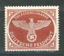 Duitse Rijk / Deutsches Reich DR Feldpost 2A MNG (1942) - Deutschland