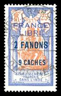 N°131, 2 Fa 9ca Sur 25c Outremer Et Orange. SUP. R. (signé Brun/certificat)  Qualité: O  Cote: 1300 Euros - Used Stamps