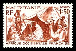 N°112A, 1f50 Brun-rouge. TB (signé Brun)  Qualité: **  Cote: 175 Euros - Mauritanië (1906-1944)