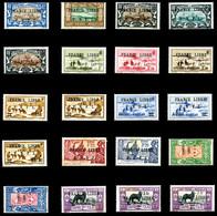 FRANCE LIBRE': N°237, 239, 242, 243, 245, 263, 264, 265, 274 à 278, 281 à 284, 286, 287 + Taxe 55, 56 Et 56a, Les 20 Val - Unused Stamps