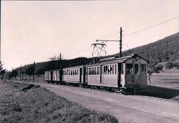Suisse SH, Chemin De Fer, Strassenbahn Schaffhausen - Schleitheim, Löhningen, Photo 1963 BVA, StSS 144 - SH Schaffhouse