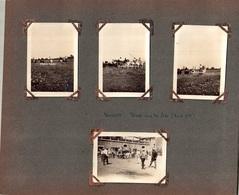 Page D'album Avec 8 Photos, Légendée VAUVERT (30) Triage Dans Les Prés (taureaux) 1929 & LES FLORETS Col De Macuègne (26 - Places