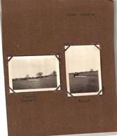 Page D'album Avec 2 Photos, Légendée CAILAR Octobre 1929 (taureaux) Manade BARONCELLI BANDOT - Places