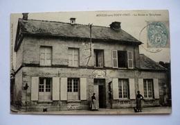 60 - Carte Animée  -  MOULIN-SOUS-TOUVENT - La Mairie Et Téléphone - Andere Gemeenten