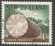 New Zealand. 1960-66 Definitives. 1/- Used. SG 791 - Used Stamps