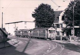 Suisse SH, Chemin De Fer, Strassenbahn Schaffhausen - Schleitheim, Neuhausen-Rheinhof, Photo 1964 BVA, StSS 1410 - SH Schaffhausen
