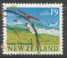 New Zealand. 1960-66 Definitives. 1/9 Multicoloured Used. SG 795 - Used Stamps
