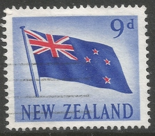 New Zealand. 1960-66 Definitives. 9d Used. SG 790 - Used Stamps