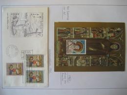 Vatikan- Karte Klara Vo Assisi Mi. 207, FDC Beleg  Mi. 388-390 - Nuovi