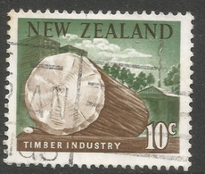 New Zealand. 1967 Decimal Currency. 10c Used. SG 855 - Used Stamps