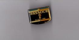 Pin's Police / Gendarmerie - 22 Avril 1988 En Mémoire Des Gendarmes D'Ouvéa - Fayaoue (époxy) Longueur: 2,6 Cm - Police