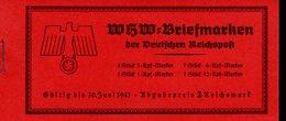 Markenheftchen 47 Winterhilfswerk Bauwerke MLH * Haftspuren (3) - Deutschland