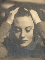 MICHELLE MORGAN JEUNE - Célébrités