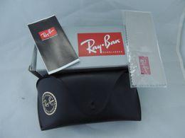 SUNGLASSES Custodia Nera Originale RAYBAN Nuova Con BOX E ACESSORI - Sun Glasses