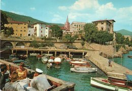 CROAZIA-LOVRAN- VIAGGIATA    FG - Croazia