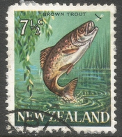 New Zealand. 1967-70 Definitives. 7½c Used. SG 871 - Used Stamps