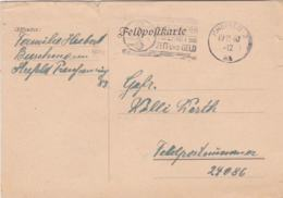 German Feldpost WW2: To France - 1. Kompanie Landesschützen-Bataillon 286 FP 24086 P/m Krefeld 19.12.1940 - Militaria