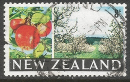 New Zealand. 1967-70 Definitives. 8c Used. SG 872 - Used Stamps