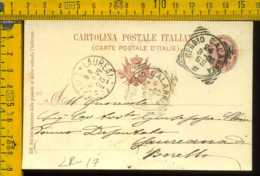 Regno Cartolina Intero Postale Reggio Calabria A Deputato Giuseppe Chindamo Laureana Di Borello - 1878-00 Umberto I