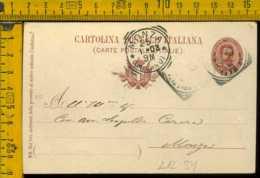 Regno Cartolina Intero Postale Santa Margherita Monza - Storia Postale