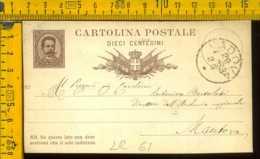 Regno Cartolina Intero Postale Padova Al Direttore Archivio Di Stato Mantova - Storia Postale
