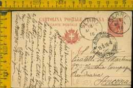 Regno Cartolina Intero  Postale Serre Ancona - 1900-44 Victor Emmanuel III