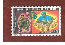 BENIN  - SG 647 -      1977   NATIONAL LOTTERY  - USED ° - Benin – Dahomey (1960-...)