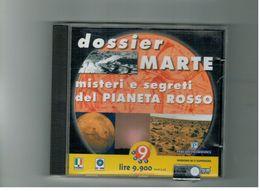 CD ROM DOSSIER MARTE MISTERI E SEGRETI DEL PIANETA ROSSO PERUZZO - CD
