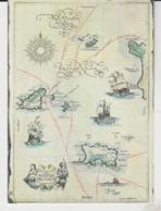 Postcard - Map - Channel Islands, No Card No - Unused  Very Good - Cartes Postales