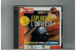 CD ROM REDSHIFT-2 ESPLORARE L'UNIVERSO ENCICLOPEDIA ASTRONOMIA PANORAMA - CD