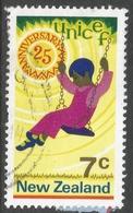 New Zealand. 1971 25th Anniv Of UNICEF. 7c Used. SG 956 - New Zealand