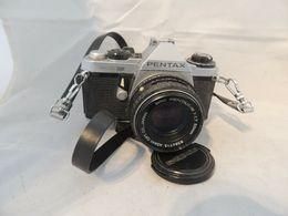 ASAHI PENTAX ME SUPER CON OBIETTIVO SMC PENTAX M 1,7 50MM - Macchine Fotografiche