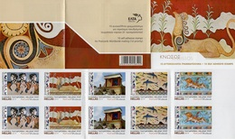 Greece - 2019 - Knossos Palace - Mint Self-adhesive Booklet With Hologram - Booklets
