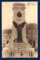 Bertrix. Réception Du Monument Aux Morts 1914-1918. 1920 - Bertrix