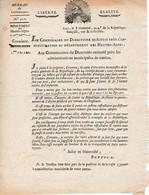 GAP (HAUTES-ALPES) Germinal An 4 - ARRESTATION Des PRÊTRES RÉFRACTAIRE Qui Désirent La Ruine Du Gouvernement - Historische Documenten