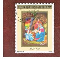 BENIN  - SG 1119 - 1989 CHRISTMAS   - USED ° - Benin – Dahomey (1960-...)