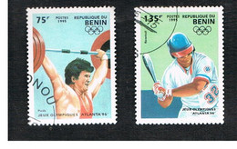 BENIN  - SG 1278.1282  - 1995 OLYMPIC GAMES   - USED ° - Benin – Dahomey (1960-...)