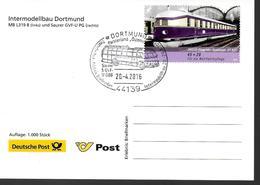 ALLEMAGNE  Carte  2016  Dortmund Bus Trains - Bussen